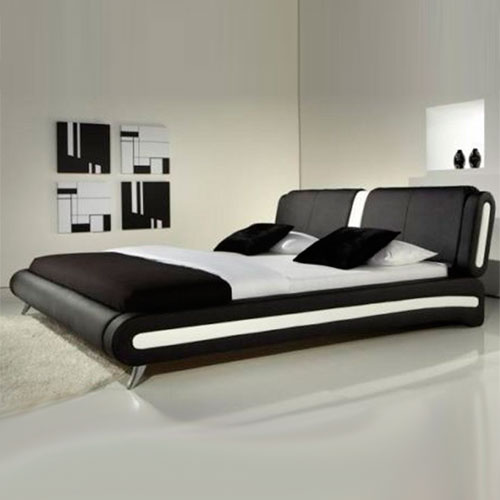 Florence Modern Leather Bed-0