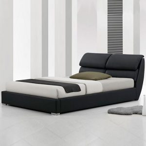 Vieri Modern Leather Bed-0