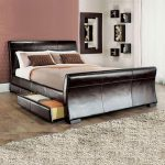 Leesa Storage Sleigh Bed-0
