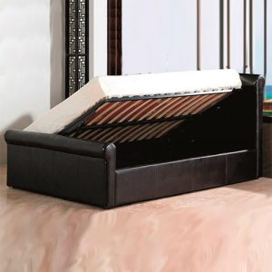 Libretto Modern Designer Leather Bed Luxury Leather Beds