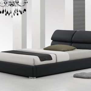 Libretto Modern Designer Leather Bed-0