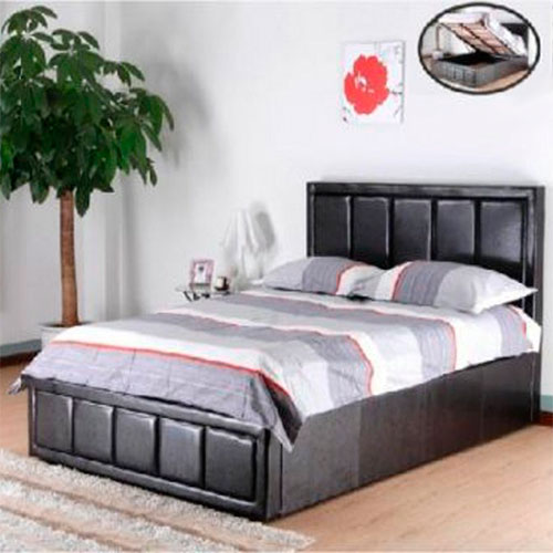 Hiley Ottoman Gas Lift Storage Bed-268