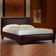 Emma Modern Leather Bed -0
