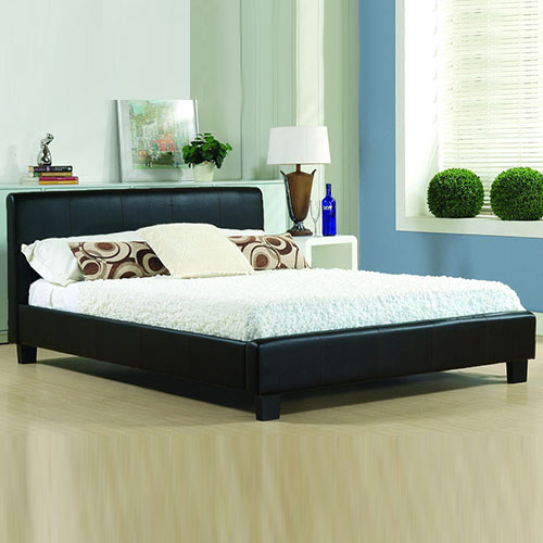 Hanna Modern Leather Bed-0