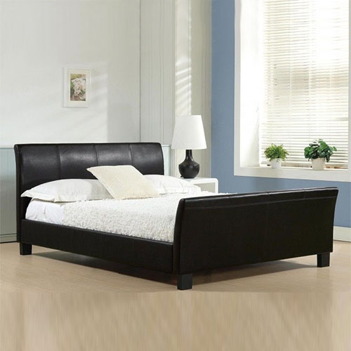 Paolo Modern Italia Leather Bed-0