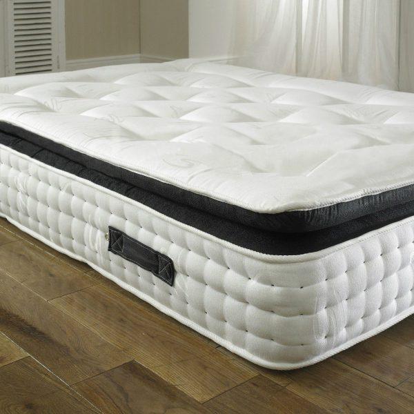 paul divan bed with 2000 pocket spring memory foam. Black Bedroom Furniture Sets. Home Design Ideas