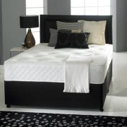 Victoria Divan Bed Set with Orthopaedic Spring Memory Foam Mattress-0