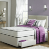 Kensington Divan Bed Set with High Density Open Spring Memory Foam Mattress-0