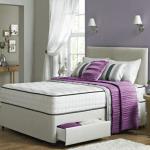 Kensington Divan Bed Set with High Density Open Spring Memory Foam Mattress-0