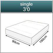 Suplex Pocket 1550 Spring Memory Foam Mattress-153