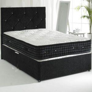 Norman Divan Bed with 6000 Pocket Spring Mattress -0