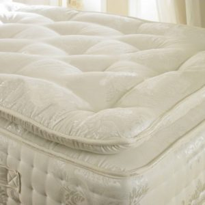 Beds.co.uk Pocket 2000 Spring Organic Pillow Top Mattress-0