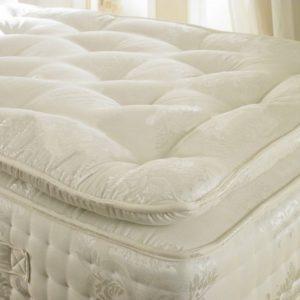 Beds.co.uk Pocket 2000 Spring Organic Pillow Top Mattress-0
