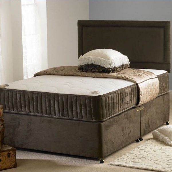 Carlo Divan Bed with Spring Memory Foam Mattress-0