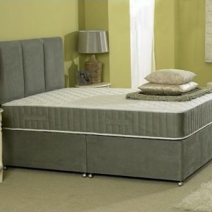 Richard Divan Bed with Spring Memory Foam Mattress-0