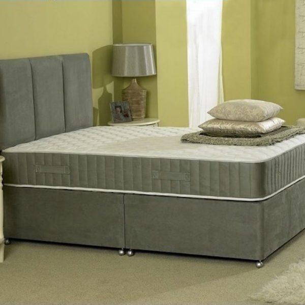 Richard Divan Bed with Spring Memory Foam Mattress-0