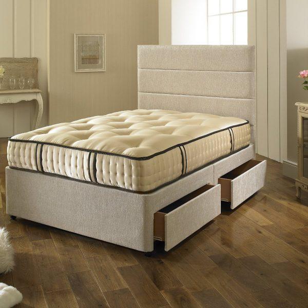2000 pocket spring organic orthopaedic mattress luxury. Black Bedroom Furniture Sets. Home Design Ideas