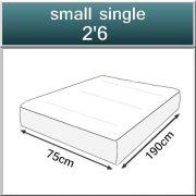 Emily 2600 Spring Memory foam Orthopaedic Mattress-416