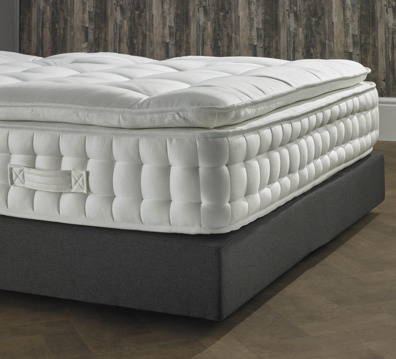 5000 Pocket Spring Pillow Top Mattress Luxury Fabric