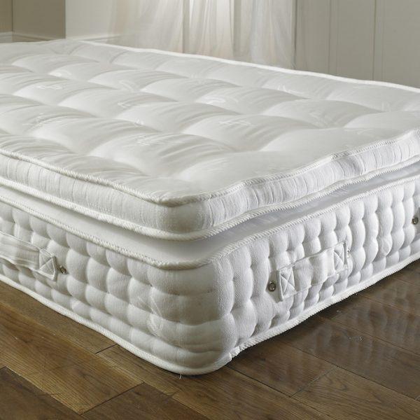 2000 pocket spring pillow top orthopaedic mattress. Black Bedroom Furniture Sets. Home Design Ideas
