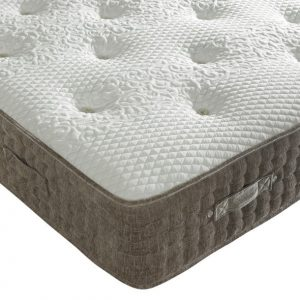 Beds.co.uk 2000 Pocket Spring Mink Chenille Orthopaedic Mattress-0