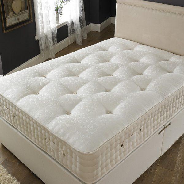 2000 pocket spring memory foam mattress luxury fabric. Black Bedroom Furniture Sets. Home Design Ideas