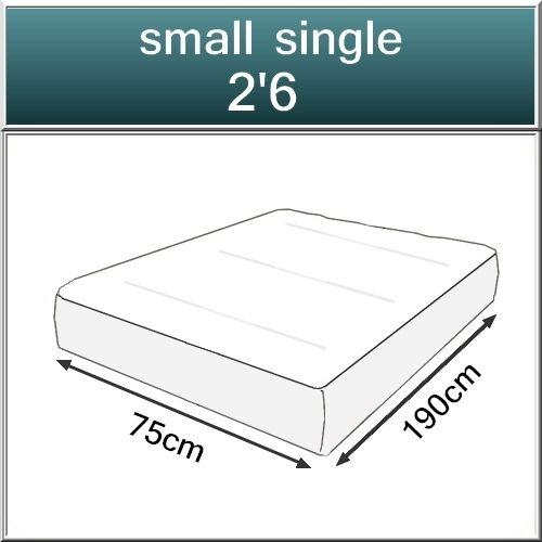 Beds.co.uk Pocket 2000 Spring Pillow Top Orthopaedic Mattress-517