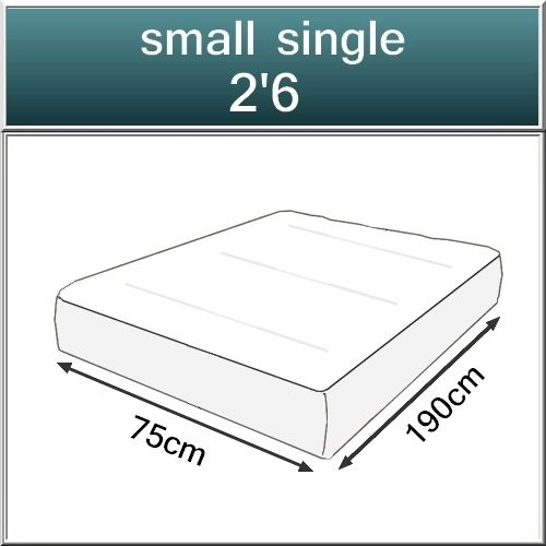 Beds.co.uk 2000 Pocket Spring Orthopaedic Mattress-536