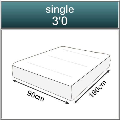 Medium Orthopaedic Open Coil Spring Mattress-399