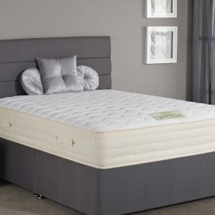 pocket 3000 spring orthopaedic mattress luxury fabric. Black Bedroom Furniture Sets. Home Design Ideas