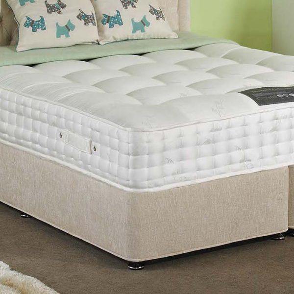 3000 pocket spring orthopaedic mattress luxury fabric. Black Bedroom Furniture Sets. Home Design Ideas