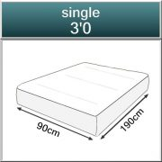 Pocket 3000 Spring Quilted Memory Foam Mattress-547