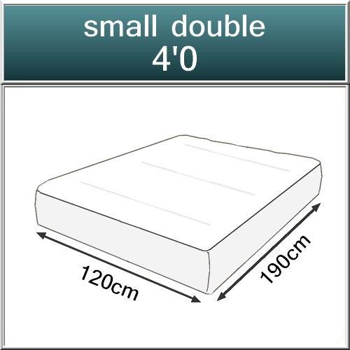 Beds.co.uk Pocket 2000 Spring Pillow Top Orthopaedic Mattress-518