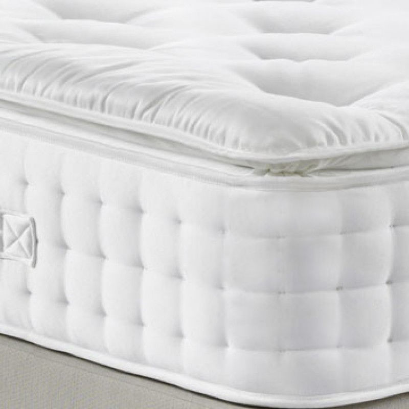 5000 pocket spring pillow top mattress luxury fabric. Black Bedroom Furniture Sets. Home Design Ideas