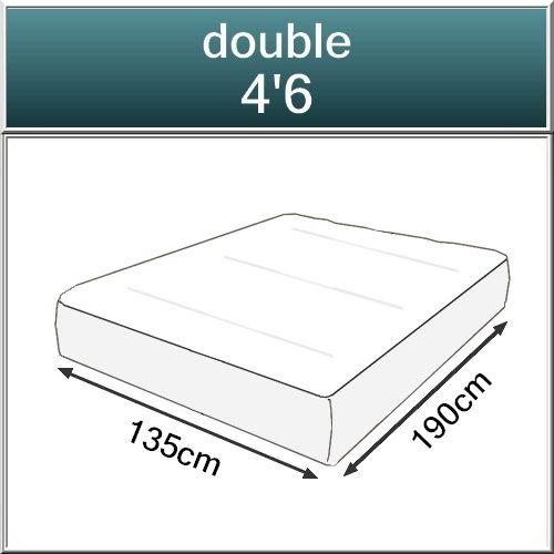 Beds.co.uk Pocket 2000 Spring Pillow Top Orthopaedic Mattress-520