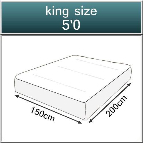 Beds.co.uk Pocket 2000 Spring Pillow Top Orthopaedic Mattress-522
