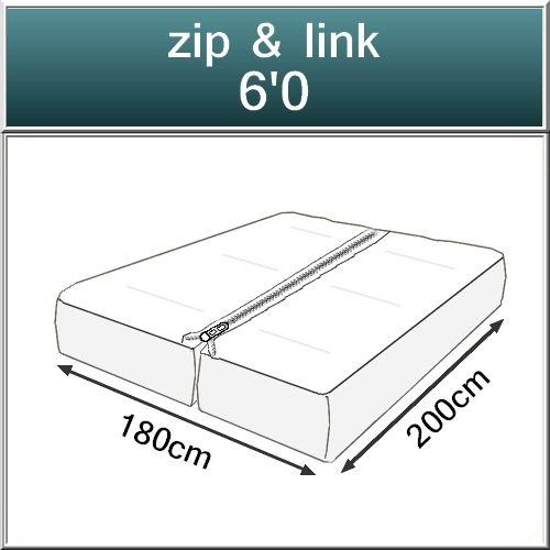 Beds.co.uk Pocket 2000 Spring Pillow Top Orthopaedic Mattress-523