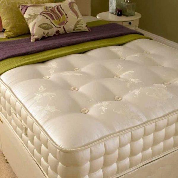 2000 pocket spring orthopaedic mattress luxury fabric. Black Bedroom Furniture Sets. Home Design Ideas