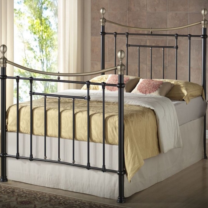 Arthur Metal Bed Frame Luxury Leather Beds Beds Co Uk