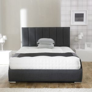 Andrea Fabric Upholstered Bed Frame-0