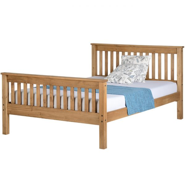Cortland Wood Bed Frame - Luxury Leather Beds - Beds.co.uk - The Bed ...