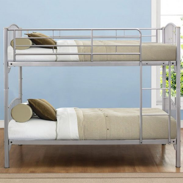 Pascal Metal Bunk Bed Frame-0