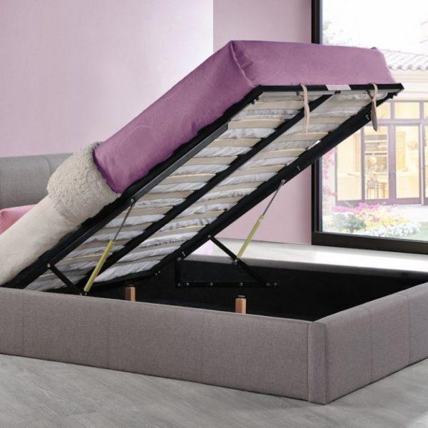 Selena Ottoman Fabric Bed-1177