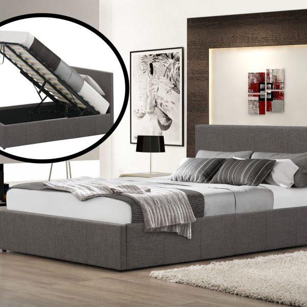 Selena Ottoman Fabric Bed-0