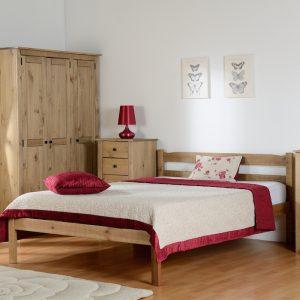 Asmund Wooden Bed Frame-0