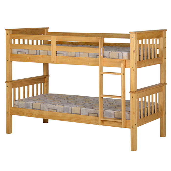 Ruben Wood Bunk Bed Frame Luxury Leather Beds Beds Co