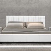 Emily Modern Italian Leather Bed-1419