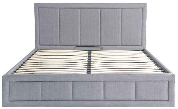Gia Ottoman Fabric Storage Bed-1469