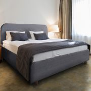 Viola Modern Fabric Bed-0