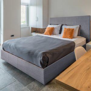 Sara Italian Modern Designer Fabric Bed-0